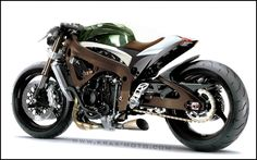 the cafe racer of the future? Bagger Motorcycle, Motorcycle Tips, Moto Bike, Motorcycle Design, Motorcycle Style, Motorcycle Accessories, Retro Motorcycle, Ducati, Yamaha