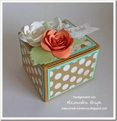 Frühlingsfrische Geschenkbox