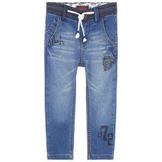 Pantalon+en+denim