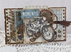 A gorgeous masculine card with Mister Tom's Treasures