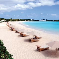 Brides.com: . 14. Anguilla    The quintessential Caribbean escape is just a direct flight away. Here, powder-white beaches are the envy of neighboring islands, and lobsters are so plentiful, they're cheaper than chicken. A range of resorts dot the British Overseas Territory, from Moroccan-inspired follies to luxury all-inclusives and villas that could wow a billionaire. But what Anguilla does best is offer a backdrop of white and blue on which couples can make their own Instagrammable…