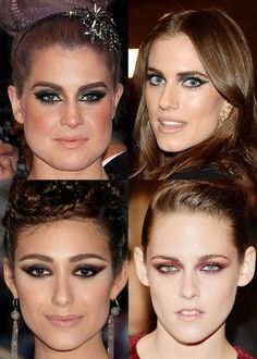 Maquiagem Baile Met Kelly Osbourne, Allison Williams, Emmy Rossum, Kristen Stewart.