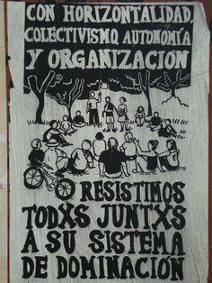 Con organización resistimos su dominación. Santiago de Chile, Romería al Cementerio General, 8 de sept. de 2013. A 40 años del golpe.