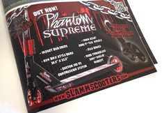 Scoot-Mag Issue 16: Phantom Supreme Advert