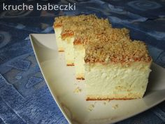 Ciasto Venus | kruche babeczki Polish Desserts, Polish Recipes, Sweets Cake, Cupcake Cakes, Cupcakes, How Sweet Eats, Sugar Cookies, Cake Recipes, Sweet Tooth
