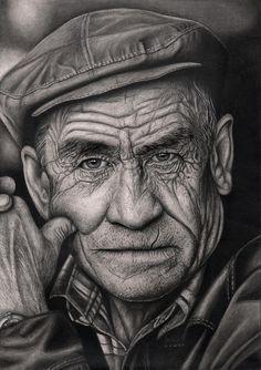 'OLD MAN' graphite drawing by Pen-Tacular-Artist on DeviantArt