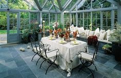 A magical setting - Mozolowski & Murray Conservatory, Dining, Gallery, Interior, Food, Roof Rack, Indoor, Winter Garden, Greenhouses