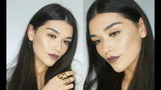 Glowy Skin and 90s Lips - YouTube