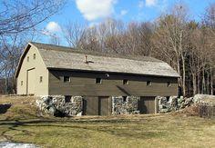 Colonial Barn. Concord, Mass.