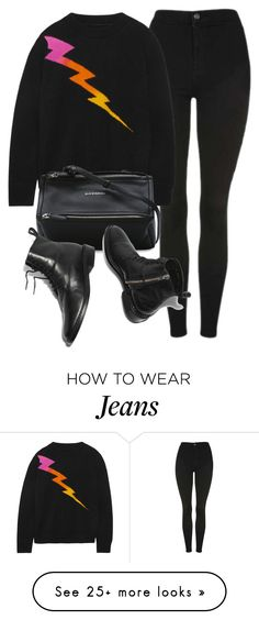 """""""Untitled #7094"""" by laurenmboot on Polyvore featuring Topshop, The Elder Statesman and Givenchy"""