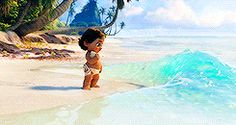 Moana. << TBH I WAS FREAKING OUT DURING THIS PART SHE COULD HAVE DROWNED WHERE ARE HER PARENTS?!?!?