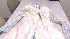 A tornado blew Jill Stawicki's family heirloom over a river and into the next state. See how nice it looks. A preservation box saved this dress from Which was also worn in 1987 by Mrs. Wedding Gown Preservation, Mississippi, Articles, River, Wedding Dresses, Box, Women, Bride Dresses, Bridal Gowns