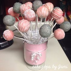 cake pop baby shower - Buscar con Google