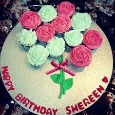 Roses cupcake