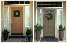 simple front door makeover