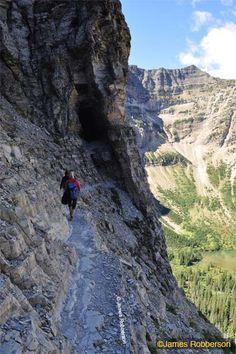 Hiking Glacier National Park.