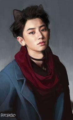 Chanyeol ❤️ EXO Fanart❤️