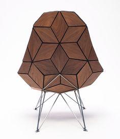 Tiles - Chair by Jonas Neilson