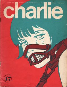 Charlie, Dec. 1972, cover by Guido Crepax by 50 Watts, via Flickr