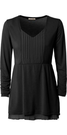 Long-Sleeve Top with Plissé Inserts - Intimissimi