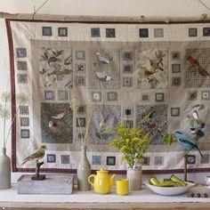 Un patchwork dédié aux oiseaux