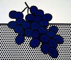 raisins bleus - (Roy Lichtenstein)                                                                                                                                                                                 Plus