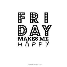 very happy!! #friday  #tgif #printables #customprintables #thepartykitshop #tw #l4l