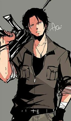 One Piece Ace, One Piece Manga, One Piece Drawing, Portgas Ace, Ace Sabo Luffy, Go Wallpaper, Cartoon Games, Male Poses, Handsome Anime