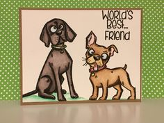 "Video Card Tutorial (Series Part-4) Feat. ""Crazy Dogs"" by Tim Holtz"