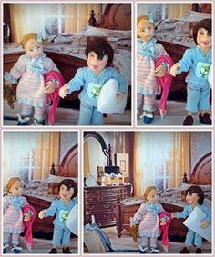 Kinder spielen in seinem Pyjama 1/12 Skala Puppenhaus von JesusN auf Etsy https://www.etsy.com/de/listing/233019475/kinder-spielen-in-seinem-pyjama-112