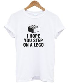 Lego Shirts, Step On A Lego, Legoland, I Hope You, Branding, Funny, Projects, T Shirt, Log Projects