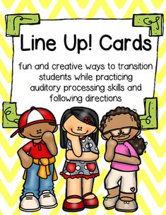 Help students develop their auditory processing skills with these fun…