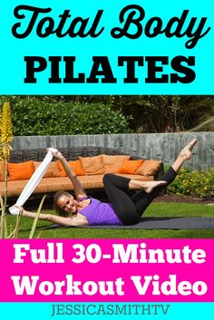#Pilates Full Body 30-Minute #Workout Video - FREE #exercisevideo!