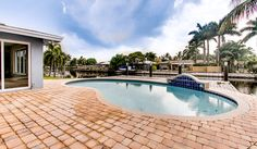 South Florida pool with a view #StellarLifePoolside