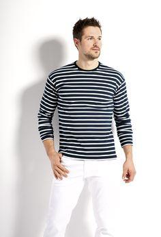 maritimes Herren-Shirt www.modeszene.de