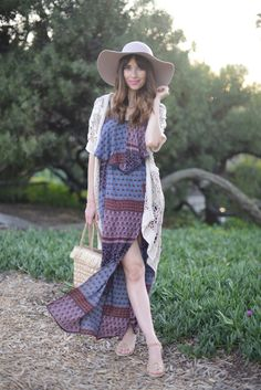 How to Style the American Eagle Outfitters Maxi Dress with M Loves M