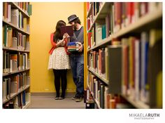 library photo session