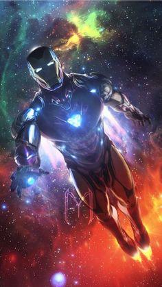 Avengers Endgame Iron Man Space Armor IPhone Wallpaper - Marvel Universe Avengers Endgame Iron Man S Marvel Comics, Marvel E Dc, Marvel Heroes, Captain Marvel, Marvel Avengers, Marvel Logo, Iron Man Wallpaper, Iron Man Avengers, Avengers Movies