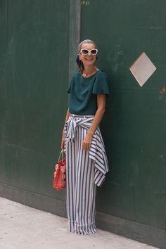 Street Style - Day 5 - New York Fashion Week Spring 2015