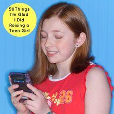 50 things for raising a teen girl