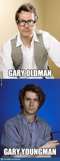 Gary Oldman & Gary Youngman
