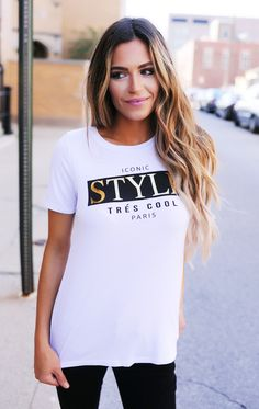 """Style"" Tee - Dottie Couture Boutique"