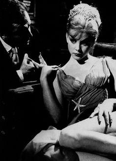 Sue Lyon and James Mason in Lolita