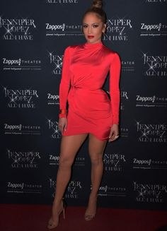 Jennifer Lopez wears a Red House Of CB London Dress J Lo Fashion, Daily Fashion, Fashion News, Trendy Dresses, Short Dresses, Fashion Dresses, Draped Dress, Birthday Dresses, Party Dresses
