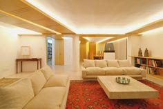 salas de estar de color beige