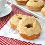 Low Carb Cinnamon Donuts with Browned Butter Glaze