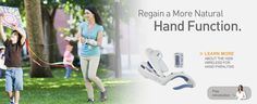 Regain a More Natural Hand Function.  Learn about the Bioness H200 Wireless for Hand Paralysis
