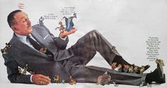 Walt Disney is being trampled by his animated creations in this print advertisement for the New York World's Fair, that's all. Disney Girls, Disney Love, Disney Magic, Disney Stuff, Disney Theme, Disney Art, Disney Pixar, Disney Animation, Disney Fanatic