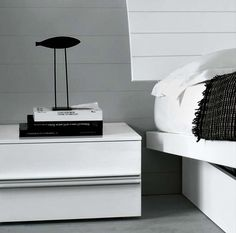contemporary bed-side table TAONIGHT MEGN026 by M.Lipparini MisuraEmme