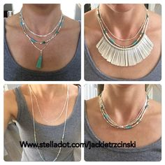 The Costa Necklace. Stella&Dot Summer 2016